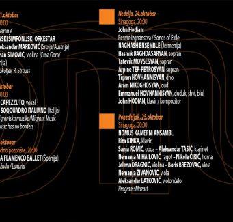 Nastupom Vojvođanskog simfonijskog orkestra sutra počinje Nomus u Sinagogi